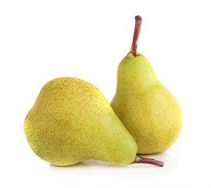 contraindicaciones de la pera