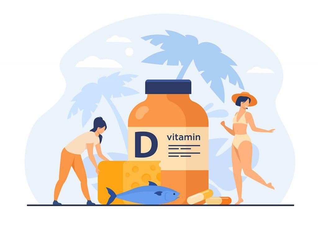 Para qué sirve la vitamina D