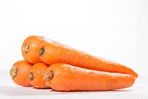 Alimentos ricos en vitamina A - zanahoria